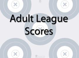 Adult League Scores