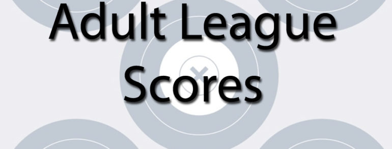 Adult League Scores