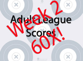 Week 2 Adult League Scores