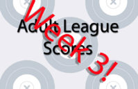 Week 3 Adult League Scores